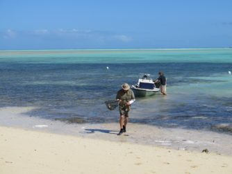 Conservation - bonfishing in the Bahamas
