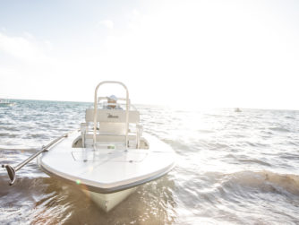 Maverick boats - Bair's Lodge - Bahamas Bonefishing