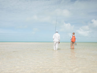 Bonefishing in the Bahamas - Bair's Lodge