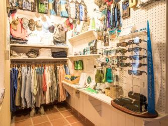 Our shop at Bair's Lodge - Bahamas