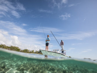 Bonefishing - Bair's Lodge - Bahamas